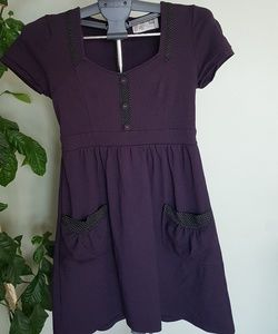 CLEARANCE!! Lost And Found dark purple dress